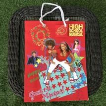 High School Musical HSM Disney Christmas Gift Bag Christmas Holiday NEW - $9.89