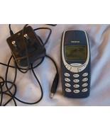 Original Nokia 3310 Dark Blue Unlocked Cell Phone Made In Hungary - $48.51