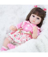 Reborn Doll Simulation Baby  Dolls  Soft Toddler Baby Toys For Girls Bir... - $97.95+