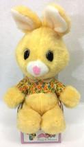 Animal Fair Nap Mates Yellow Bunny Rabbit Flowers Plush Stuffed Toy Vint... - $109.95