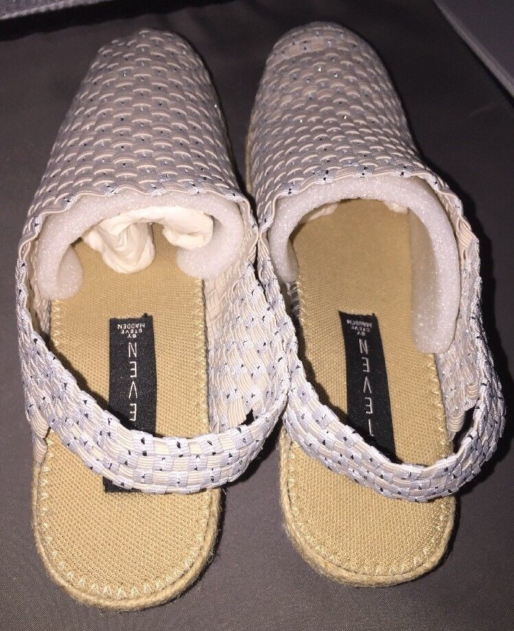 "Steven by Steve Madden ""Knolle"" Natural Slingback Size 8.5 ~ New No Box"