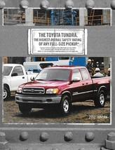 2002 Toyota TUNDRA sales brochure catalog 02 SR5 Limited - $6.00