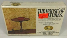 NEW The House of Miniatures Queen Anne Tilt Top Table Dollhouse No. 40008 SEALED - $4.70