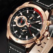 CURREN Quartz Watch Men Watches Top Brand Luxury Famous Wristwatch Male Clock Wr - $33.38