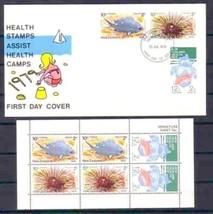 NEW ZEALAND 1979 SE-TENANT SHEET MNH & FDC FISH MARINE LIFE 4650-RD-A1 - $6.93