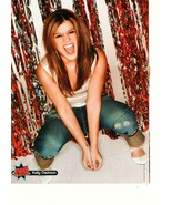 Michael Copon Kelly Clarkson teen magazine pinup clipping America Idol - $3.50