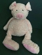 Animal Adventure Pig Plush 2017 Stuffed Animal Large Pale Pink Soft Toy - $29.69