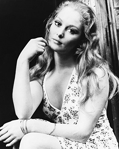 Primary image for Jenny Hanley B&W 16X20 Canvas Giclee Sexy 1970'S