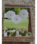 NEW Recollections Paper Flowers Kit White Party Wedding Decorations - $12.86