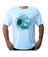 Sea Turtle Ocean Life Short Sleeve UPF 50 T-Shirt Fishing Sport UV Prote... - $18.37+