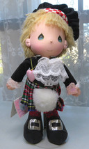 PRECIOUS MOMENTS 15'' Doll Scottish The world's Children Eric - $15.00