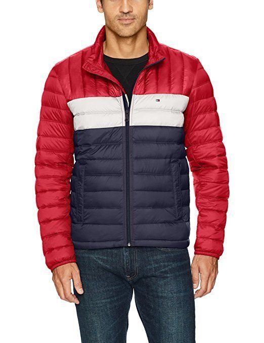 Primary image for Tommy Hilfiger Men's Packable Down Jacket - Choose Size/Color