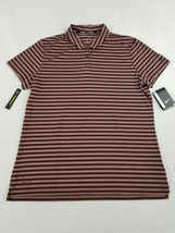 NIKE DRY GOLF COLLARED POLO STRIPED BURGUNDY MAROON XS TOP SHIRT 884867-... - $30.56