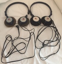 Vintage...America West Airlines In Flight Headphones...2 PAIR - $14.92