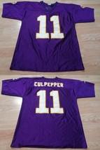 Men's Minnesota Vikings Daunte Culpepper M Jersey (Purple) NFL Jersey - $26.17
