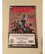DCEASED #1 SIGNED TOM TAYLOR + DCEASED #1 BATMAN:LAST KNIGHT #3 - FREE S... - $23.38