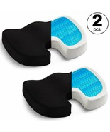 Seat Cushion (2-Pack)- Car Seat Butt Pillow, Hip Support for Office Chai... - £25.03 GBP+