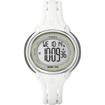 Timex Ironman Sleek 50-Lap Mid-Size Watch - White - $67.07
