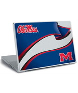 University of Mississippi Peel and Stick Laptop Computer Skin Ole Miss, ... - $9.74