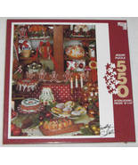 Apple Street Country Sweets Christmas Holliday Jigsaw Puzzle 550 pieces - $11.95