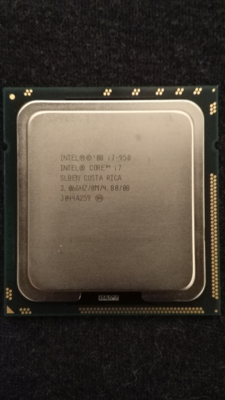 Used, Intel Core i7 950 3.06 GHz Quad-Core Processor i7-950 CPU LIKE Gently Used/Excel for sale  USA