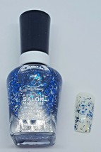 NEW Sally Hansen Salon Manicure Overcoat Nail Polish .5 fl oz Confetti T... - $3.99