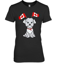 Canada National Flag Funny Maltese Lover T Shirt - $19.99+