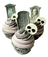 Spooky Halloween Bath Bomb- Activated Charcoal- Self Care Gifts- Patchou... - $10.25