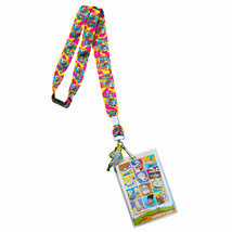 Nickelodeon Ren & Stimpy Keychain Lanyard Pink - $8.98