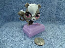 McDonald's 2012 Hasbro Littlest Pet Shop Skunk Pepper Clark Happy Meal Toy  - $1.26