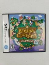 Animal Crossing: Wild World (Nintendo DS, 2005) | CIB — Cartridge Insert... - $44.44