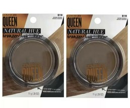 Lot of 2 Covergirl Queen Collection Natural Hue Q110  Brown Bronze Bronzer - $27.60