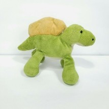 "Wild Republic Plush Stegosaurus Dinosaur Finger Puppet Stuffed green 8"" ... - $15.83"