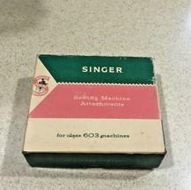 Singer Sewing Machine Attachments Class 603 Machines161796 Parts w/ Box - $18.49