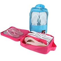 Portable Shoes Bag Organizer Handled Waterproof Shoes Tote Pouch Travel ... - $12.73
