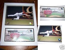 USPS Ken Griffey Jr Cincinnati Reds Matted Art 2007 New 16 X 12 - $24.00