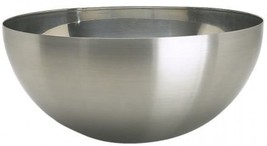 Stainless Steel Blanda Blank Serving Bowl , Silver, Mixing, Salad Family - $20.00