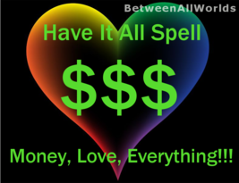 Quantum Have It All Money Love Spell Psychic Magick Powers Protection Luck More  - $99.00