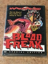 Blood Freak (DVD, Special Edition, Something Weird Video) NEW / SEALED - $9.30