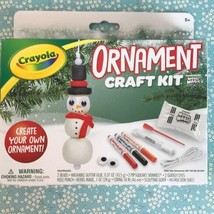 Crayola Model Magic Holiday Kit Winter Snowman Christmas Ornament Craft ... - $8.95