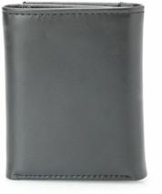 Tommy Hilfiger Men's Premium Leather Credit Card Id Wallet Trifold Black 5676-1 image 2