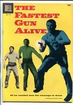 Fastest Gun Alive #741 1956-DELL-GLENN FORD-WESTERN-MOVIE EDITION-vf+ - $94.58