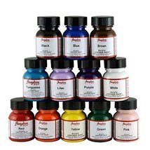 Angelus Leather Paint Set Of 12 1 Oz - $36.64