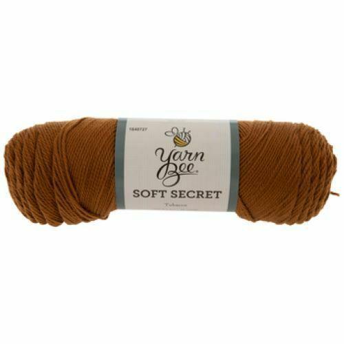 Yarn Bee Soft Secret Yarn in Brown #1840727
