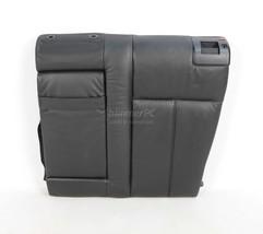BMW E39 Black Leather Left Rear Seat Backrest Cushion w Fold Down 1996-2... - $123.75