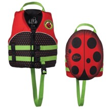 Full Throttle Water Buddies Vest - Child 30-50lbs - Ladybug - $30.96