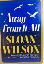 Sloan Wilson Book Lot 2 Janus Island Away From It All 1960's Hardcover DJ  image 5