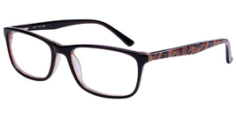 Amadeus Eyewear A994 Eyeglasses in Brown - $63.99