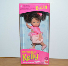 Vintage Barbie Becky Lil Friends Of Kelly Doll 1995 Mattel New Sealed Box - $18.09