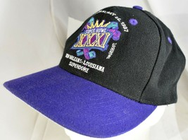1997 Super Bowl XXXI Baseball Hat Embroidered New Orleans Superdome NFL - £24.61 GBP